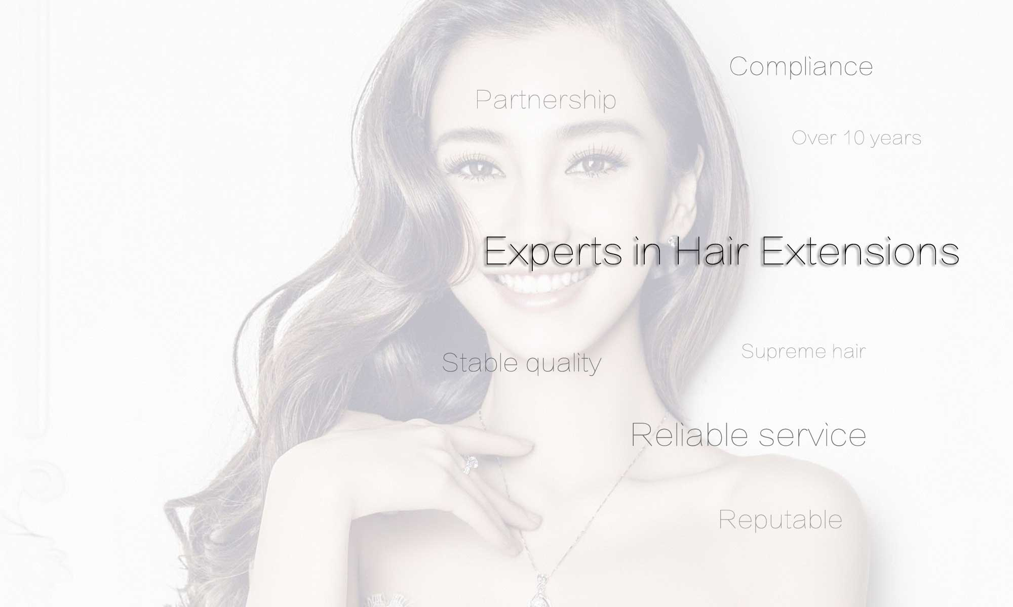 Hair extensions OEM services supplier