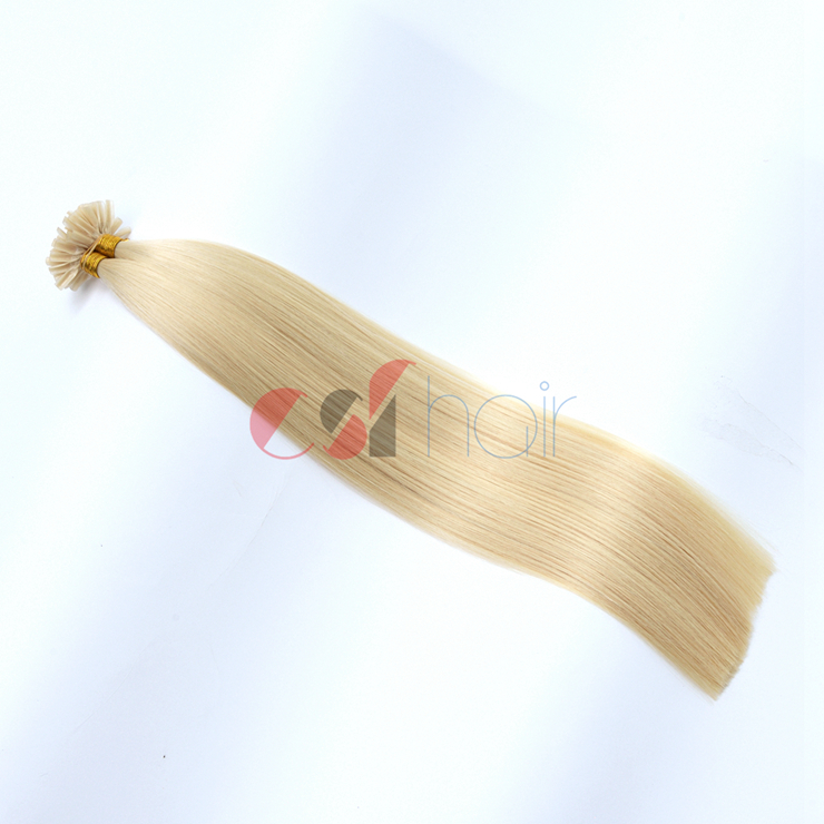 Keratin tip hair extension #613
