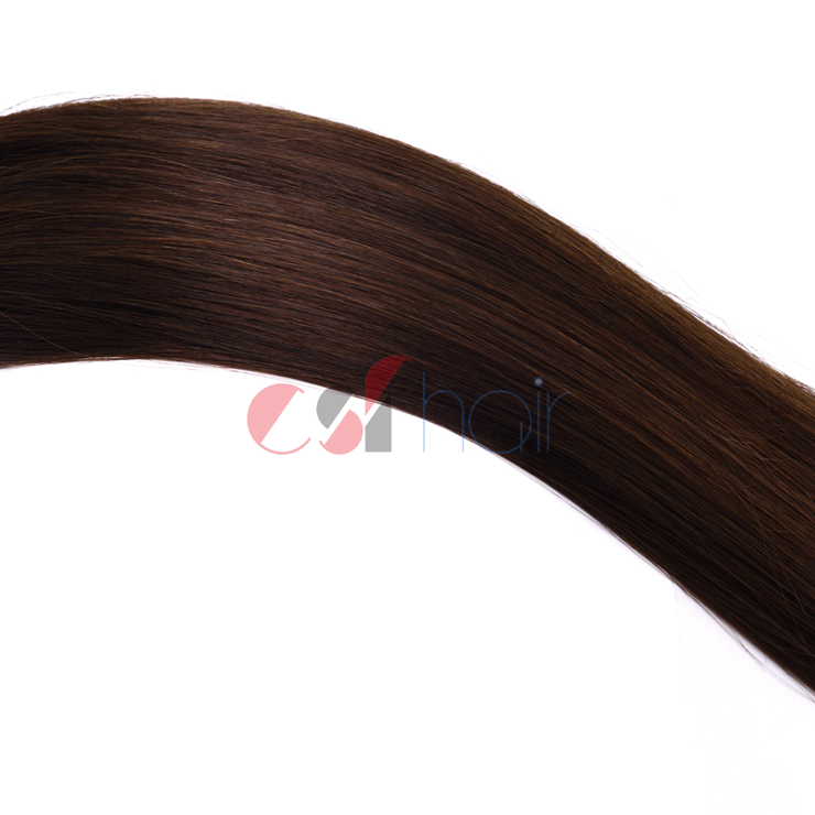 Clip in hair extension #1B