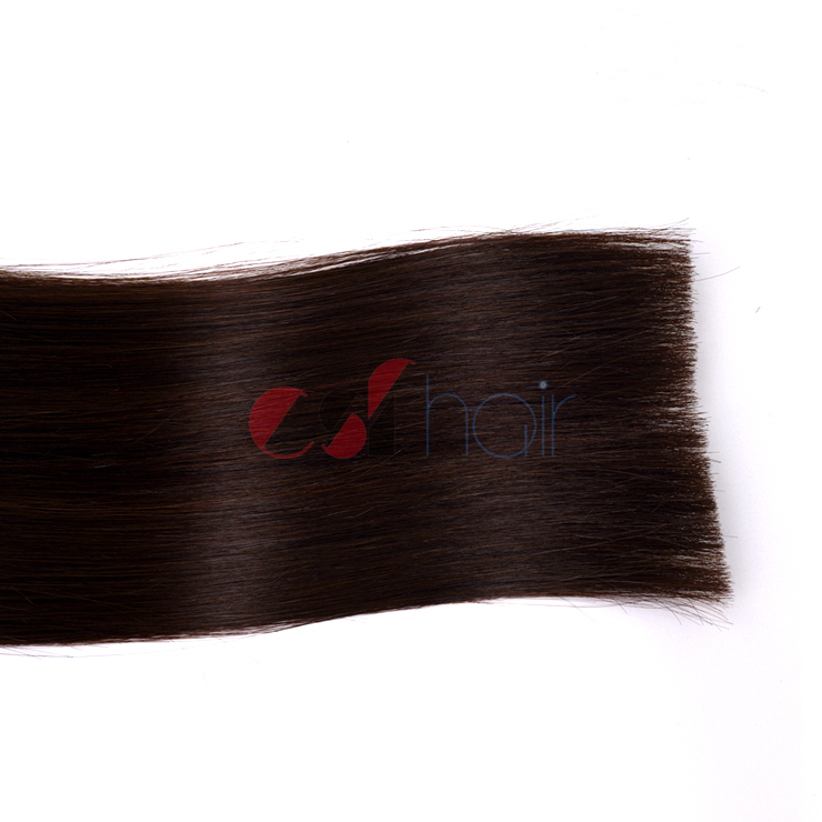 Tape in hair extension #1B