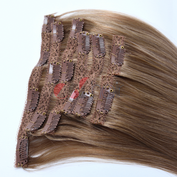 Clip in hair extension #18